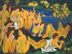 Die Badende (E.L. Kirchner)